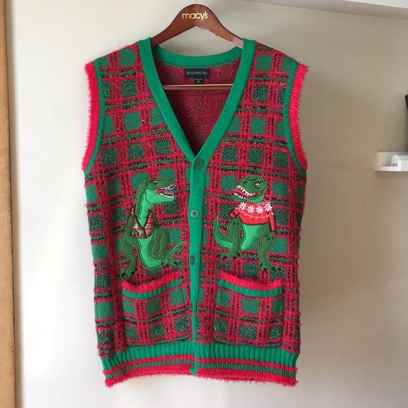 Dinosaur Christmas Sweater.Dinosaur Christmas Sweater